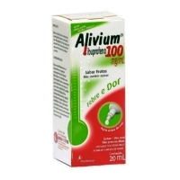 Alivium 100mg com Gotas 20mL