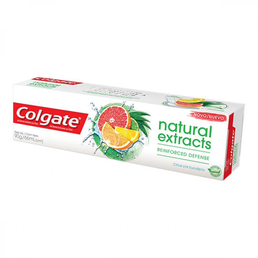 Creme Dental Colgate Natural Extracts Defesa Reforcada 90g