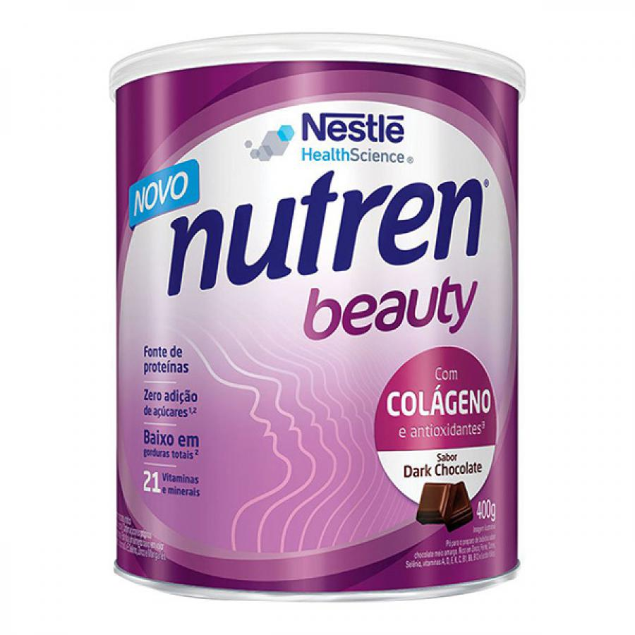 Nutren Beauty Dark Chocolate 400g