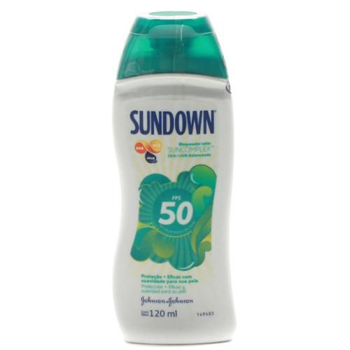 Protetor Solar Sundown FPS 50 120ml