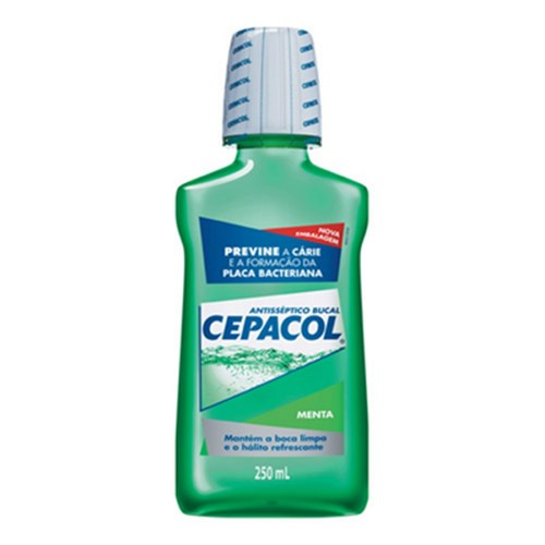 CEPACOL Menta Antisséptico Bucal 250ml