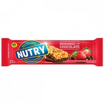 Barra Cereal Nutry Morango e Chocolate