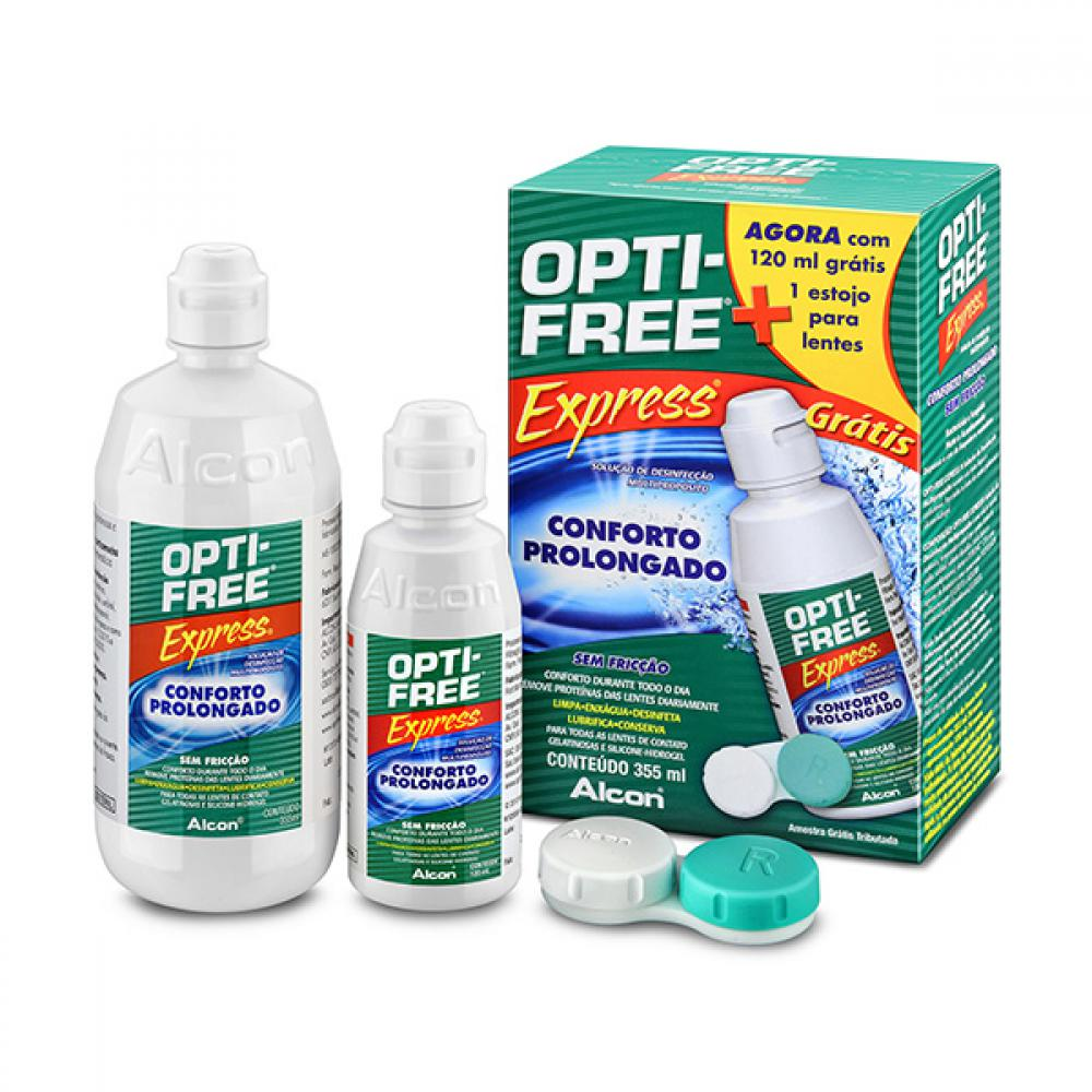 OPTI FREE EXPRESS 355ML+120ML+ESTOJO