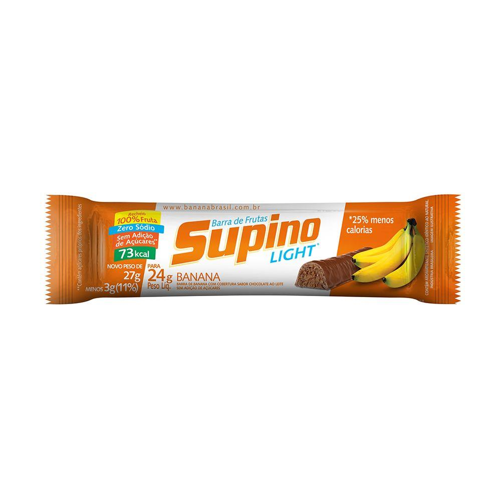 SUPINO LIGHT CHOCOLATE AO LEITE 24G UN
