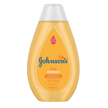 Shampoo Infantil Johnsons & Johnsons Regular 400ml