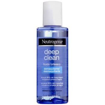Demaquilante Neutrogena Deep Clean Fluido Bifásico 117ml